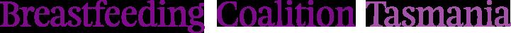 Breastfeeding Coalition Tasmania logo